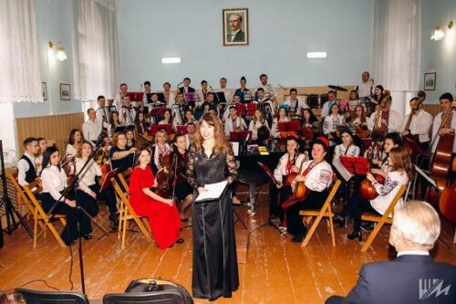 Новорічний концерт студентів, магістрантів та викладачів кафедри музичного мистецтва (24.12.2019)