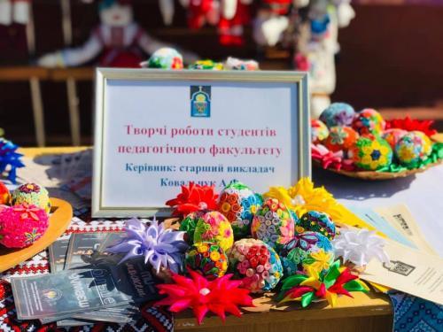 День міста (18.05.2019). Майстер-клас з виготовлення ляльки-кутасика